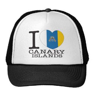 Amor v2 de las islas Canarias Gorro De Camionero