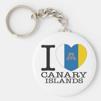 Amor v2 de las islas Canarias Llavero Personalizado