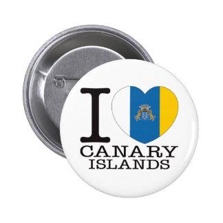 Amor v2 de las islas Canarias Pins
