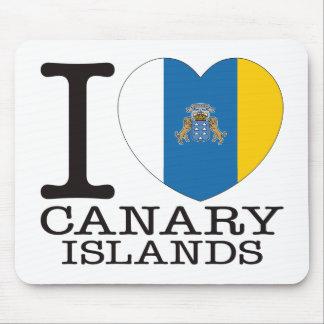 Amor v2 de las islas Canarias Tapete De Ratón