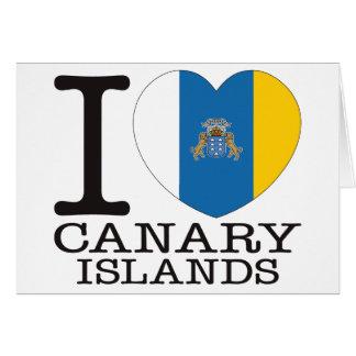 Amor v2 de las islas Canarias Tarjetón