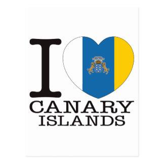 Amor v2 de las islas Canarias Postal