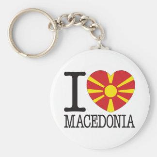 Amor v2 de Macedonia Llaveros Personalizados