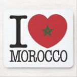 Amor v2 de Marruecos Alfombrillas De Ratón