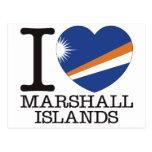 Amor v2 de Marshall Islands Tarjetas Postales