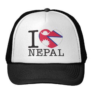 Amor v2 de Nepal Gorros Bordados