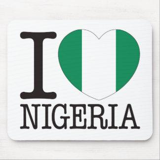 Amor v2 de Nigeria Tapete De Ratón