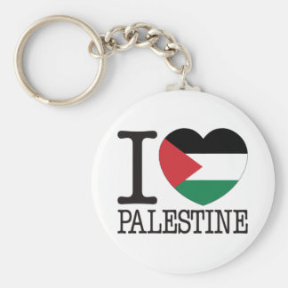 Amor v2 de Palestina Llavero Redondo Tipo Pin