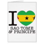 Amor v2 de Sao Tome Principe Tarjeton