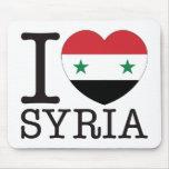 Amor v2 de Siria Alfombrillas De Ratón