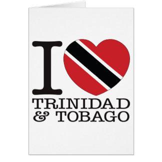 Amor v2 de Trinidad and Tobago Tarjeton