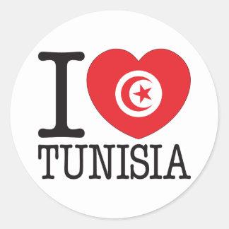 Amor v2 de Túnez Pegatina