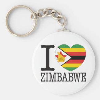 Amor v2 de Zimbabwe Llavero