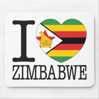 Amor v2 de Zimbabwe Tapetes De Ratones