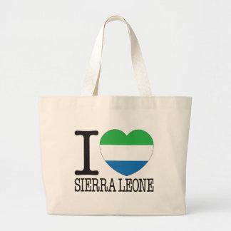 Amor v2 del Sierra Leone Bolsa Lienzo