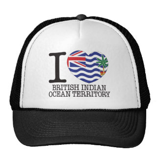 Amor v2 del territorio del Océano Índico británico Gorro