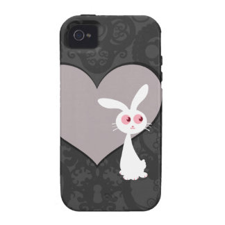 Amor V del conejito de Shiro iPhone 4 Funda