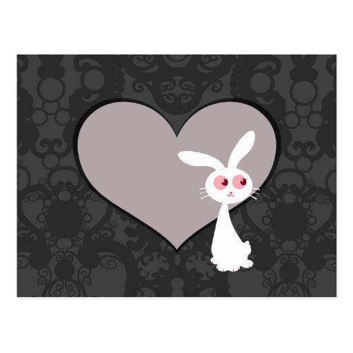 Amor V del conejito de Shiro Postal