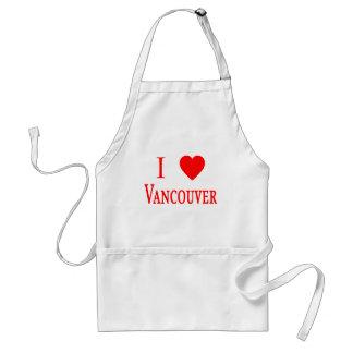 Amor Vancouver de Vancouver Canadá I Delantal