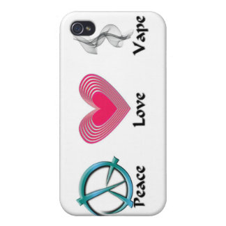 Amor Vape de la paz iPhone 4/4S Funda