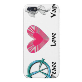 Amor Vape de la paz iPhone 5 Fundas