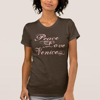 Amor Venecia de la paz Camisetas