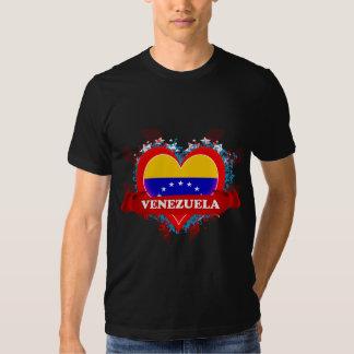 Amor Venezuela del vintage I Playera