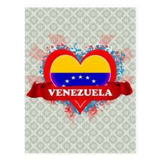Amor Venezuela del vintage I Postales