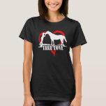 Amor verdadero (caballo) playera