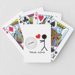 Amor verdadero del último disco volador cartas de juego