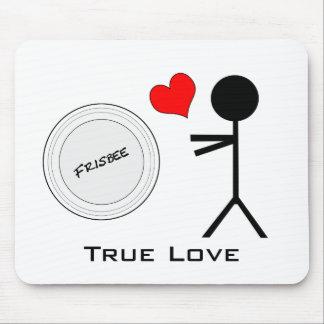 Amor verdadero del último disco volador mousepads