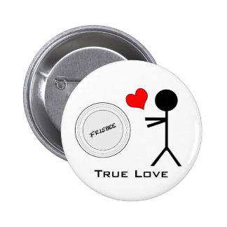 Amor verdadero del último disco volador pin