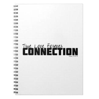 Amor verdadero para siempre cuaderno