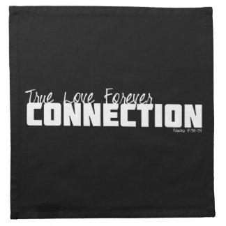 Amor verdadero para siempre servilletas