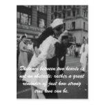 Amor verdadero tarjeta postal