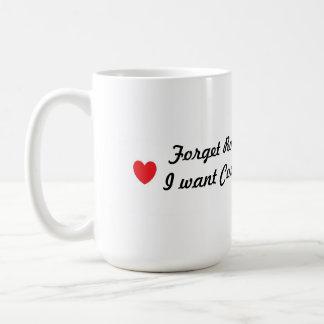 Amor verdadero tazas de café