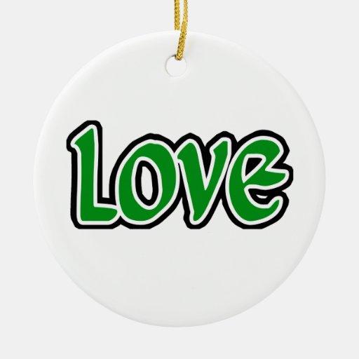 Amor verde adorno