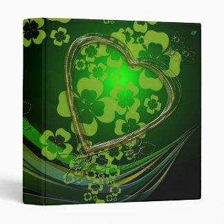 "Amor verde del trébol carpeta 1"""