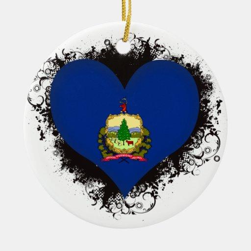 Amor Vermont del vintage I Adorno