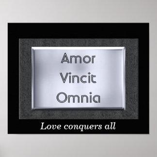Amor Vincit Omnia - art print