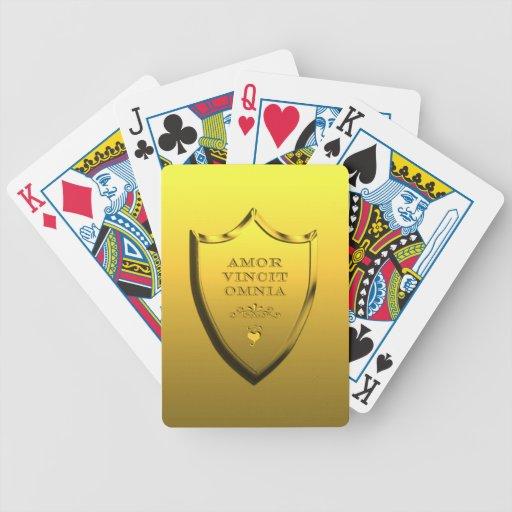 Amor Vincit Omnia Baraja Cartas De Poker