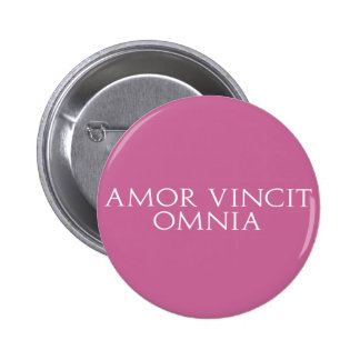 Amor Vincit Omnia Button