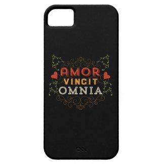 Amor Vincit Omnia - Love Conquers All iPhone SE/5/5s Case