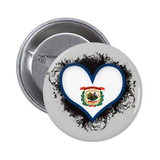 Amor Virginia Occidental del vintage I Pin