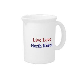 Amor vivo Corea del Norte Jarron