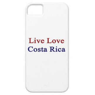 Amor vivo Costa Rica iPhone 5 Case-Mate Protectores