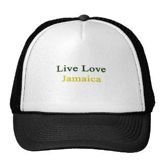 Amor vivo Jamaica Gorras