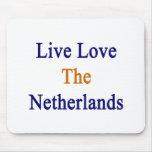 Amor vivo los Países Bajos Alfombrillas De Raton
