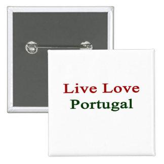 Amor vivo Portugal Pin