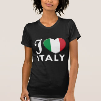 Amor W de Italia Camisetas